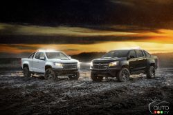 2018 Colorado ZR2 Dusk and ZR2 Midnight Editions