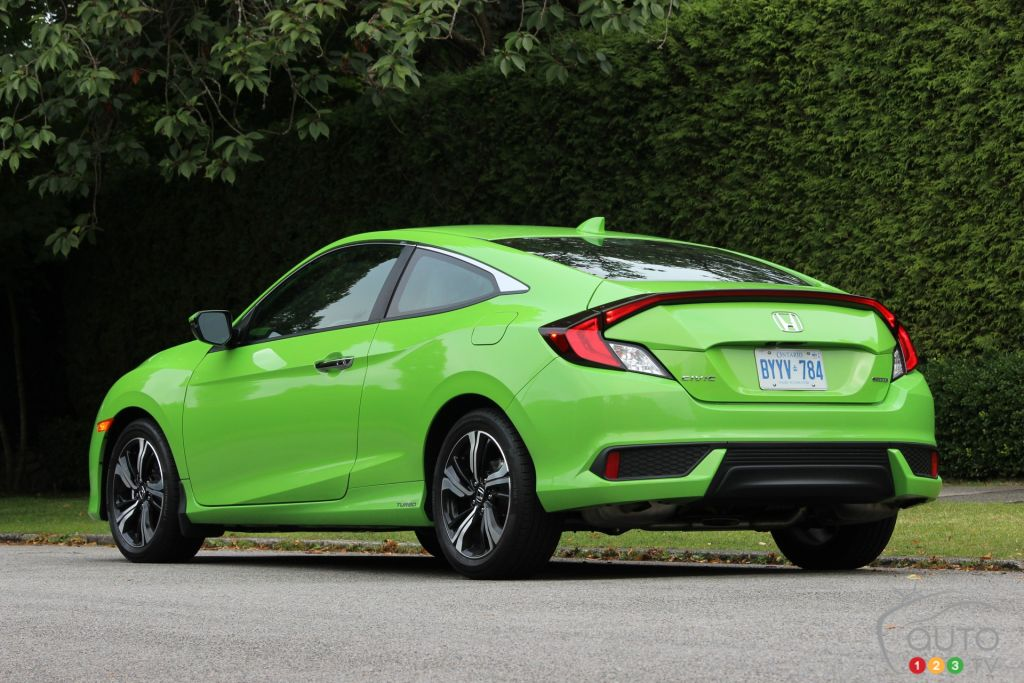 2016 honda civic coupe touring hits the mark car news