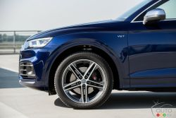 Front wheel of the SQ5