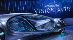Introducing the Mercedes-Benz VISION AVTR concept