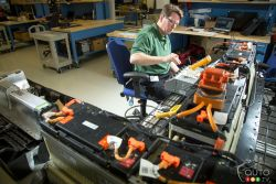 Engineers are working to reduce battery charging time.