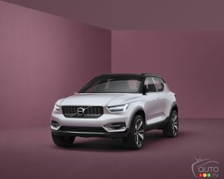 Volvo Concept Car 40 pictures