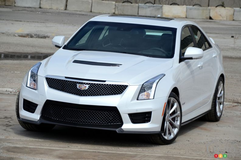 2016 cadillac ats v pictures photo 1 of 26 auto123. Black Bedroom Furniture Sets. Home Design Ideas