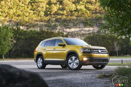 Photos du Volkswagen Atlas 2018