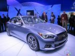 2014 Infiniti Q50 pictures at the Detroit Auto Show