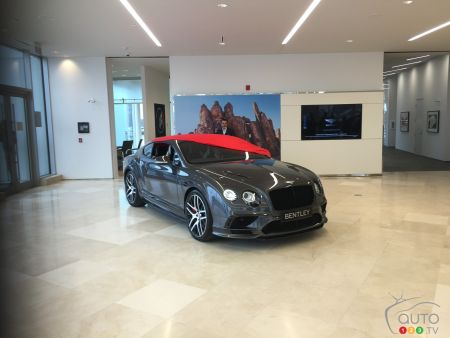 Photos de la Bentley Continental SuperSports de 701 chevaux