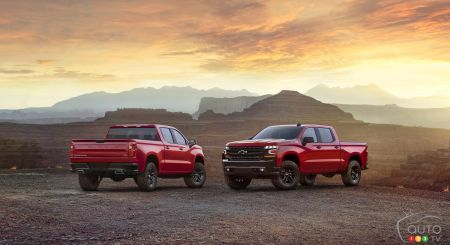 Photos du nouveau Chevrolet Silverado 2019