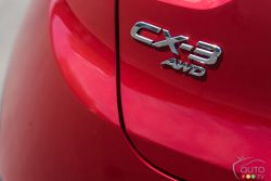 2016 Mazda CX-3 GT badge