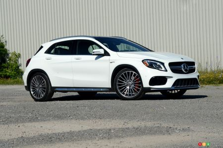 2018 Mercedes-AMG GLA 45 pictures