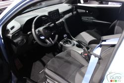 Dashboard of the 2019 Hyundai Veloster