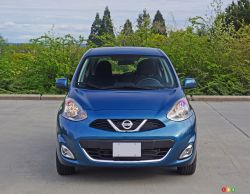 2016 Nissan Micra SR front view