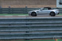 2015 Aston Martin V12 Vantage S Roadster on track