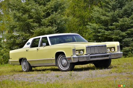 1975 Lincoln Town Car Continental pictures