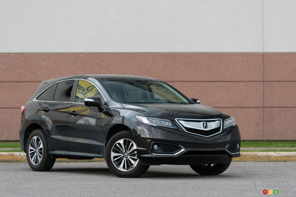 The 2016 Acura Rdx Elite Is Vanilla Car Reviews Auto123