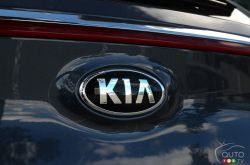 2017 Kia Sportage manufacturer badge