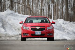 2014 Chevrolet Cruze RS pictures