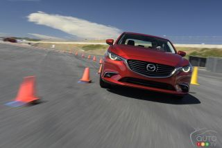 Photos des test de Mazda G-Vectoring 2016