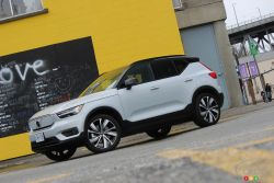 We drive the 2021 Volvo XC40 Recharge