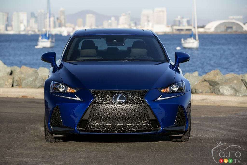 2018 lexus is 350 awd f sport review and pricing car news auto123. Black Bedroom Furniture Sets. Home Design Ideas