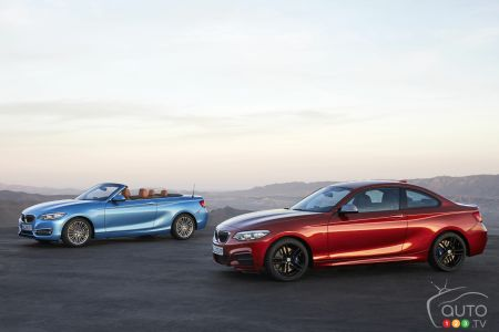 The new 2018 BMW 2 Series Coupe and Cabriolet pictures