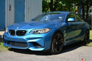 Photos de la BMW M2 2016
