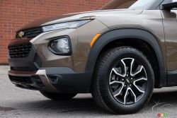 We drive the 2021 Chevrolet Trailblazer