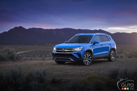 Photos du Volkswagen Taos 2022