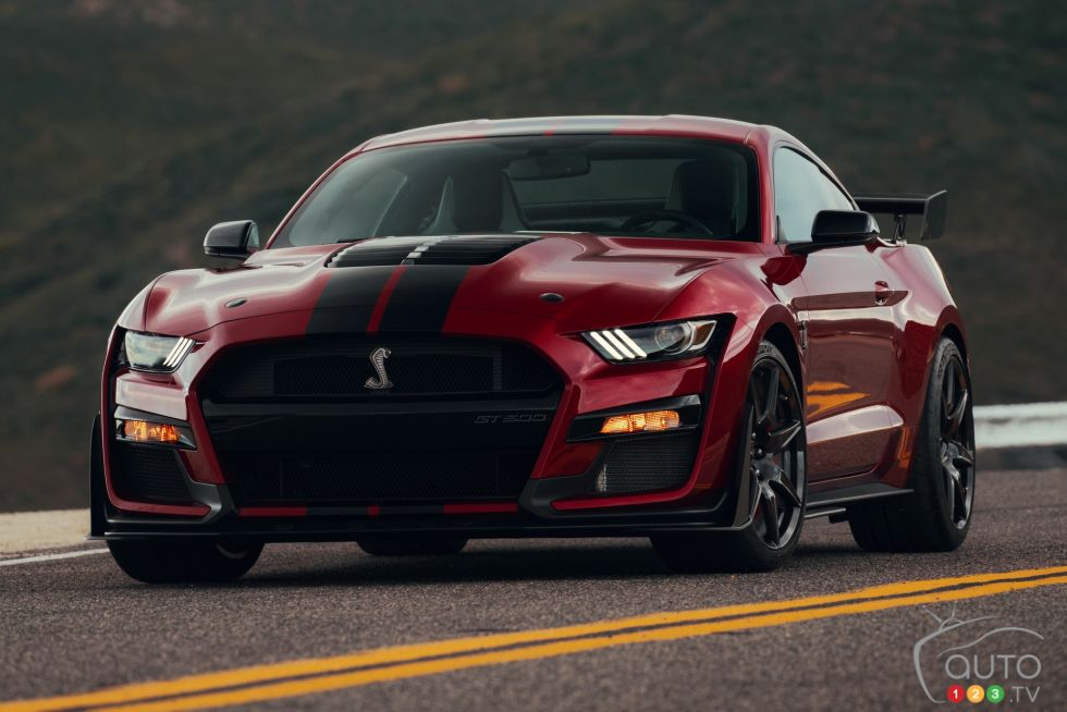 2020 ford mustang shelby gt500 pictures   auto123