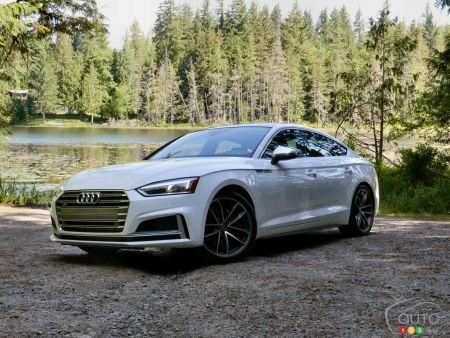 2018 Audi A5/S5 Sportback pictures