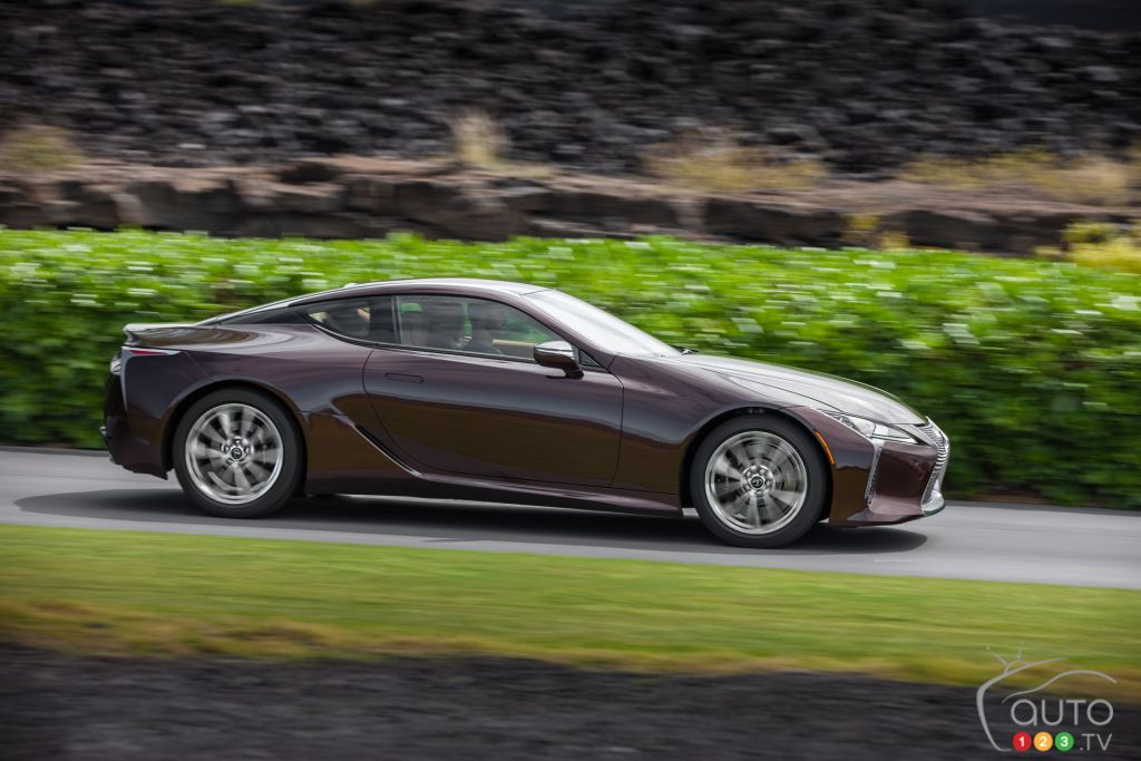 2018 Lexus Lc 500 Surrender To All This Relentless Beauty