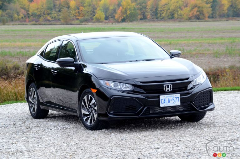 2017 Honda Civic Hatchback pictures
