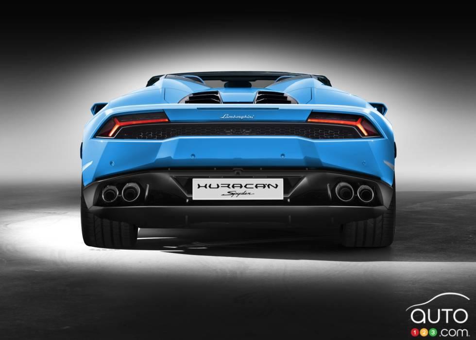 Lamborghini Huracan Spyder Pictures Photo 8 Of 8 Auto123