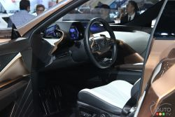 Dasboard of the Lexus LF1 Limitless Concept