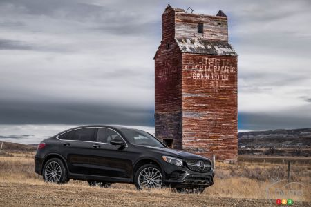 Photos de la Mercedes-Benz GLC Coupé 2017