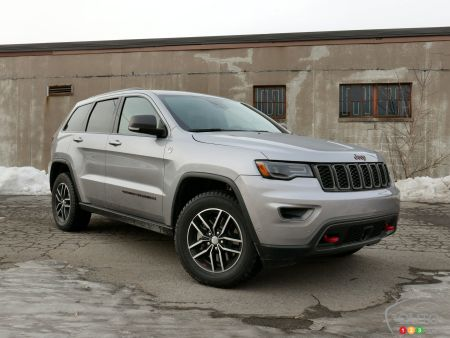 2017 Jeep Grand Cherokee Trailhawk pictures