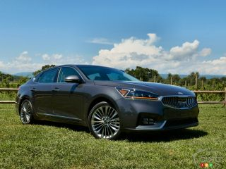 Photos de la Kia Cadenza 2017