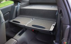 2017 Porsche 911 Carrera 4s rear seats