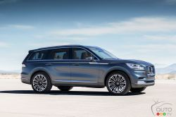 The new Lincoln Aviator concept