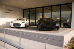 Aston Martin Vantage and Rapide