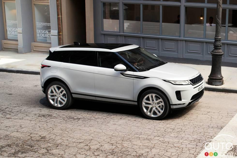 2020 Land Rover Range Rover Evoque Pictures Auto123