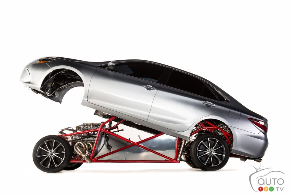 2014 850-Horsepower Camry Dragster pictures | Photo 2 of 21