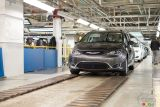 Photos des Chrysler Pacifica et Dodge Grand Caravan: visite de l'usine
