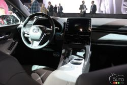 Dashboard of the 2019 Toyota Avalon