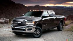 Introducing the new 2019 RAM HD Laramie Longhorn edition