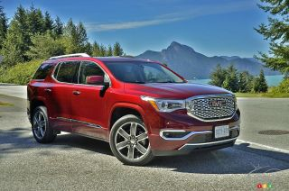 Photos du GMC Acadia 2017