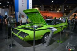 1970 Plymouth Superbird Tribute with Mopar Hellcrate HEMI Engine