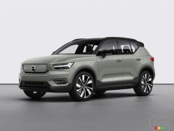 Introducing the 2020 Volvo XC40 Recharge
