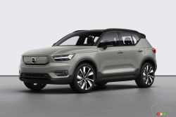 Introducing the 2021 Volvo XC40 Recharge