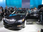 2014 Acura RLX pictures at the Los Angeles Auto Show