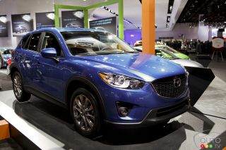 2013 Mazda CX-5 pictures at the Detroit Auto show